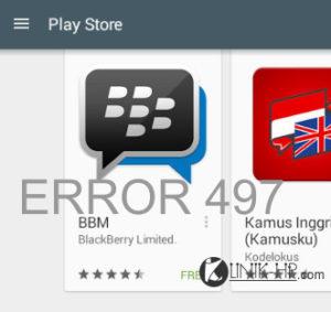 Solusi Google Play Store Error 497 di Xiaomi