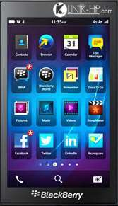 Cara Mematikan Screen Reader BlackBerry OS 10