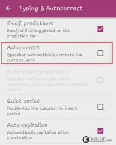 Cara Mematikan Auto Correction Swiftkey di Android