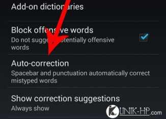Cara Mematikan Garis Bawah Merah di Teks Google Keyboard