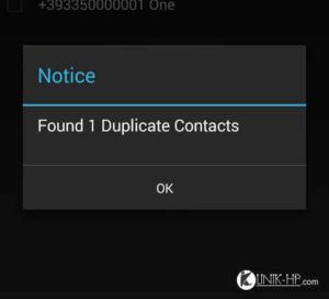 Menghapus Duplikat Kontak Android Dengan Mudah