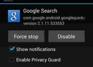 Solusi Google Penelusuran Telah Berhenti Android