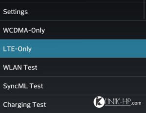 Cara Setting 4G LTE LG Optimus G Pro