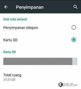 Cara Setting atau Memindahkan Aplikasi ke SD Card Lenovo A7000
