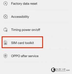 Cara Memunculkan Menu SIM Toolkit Oppo F1s Selfie Expert Dengan Mudah