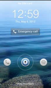 Cara Mengubah Tampilan Lock Screen Huawei Ascend G510 atau Y300