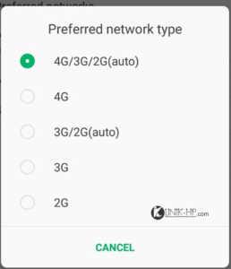 Solusi Tidak Ada Pengaturan 4G LTE Infinix Hot S , Cek Selengkapnya !