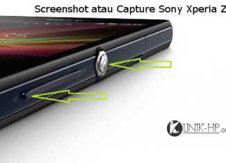 Cara Capture atau Screenshot Sony Xperia ZR Dengan Mudah