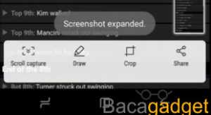 Cara Long Page Screenshot atau Full Halaman di Samsung Galaxy S8