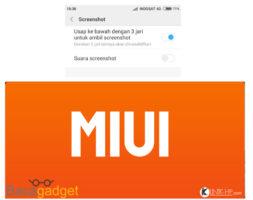 Cara Screenshot 3 Jari Xiaomi Dengan Mudah (Capture)