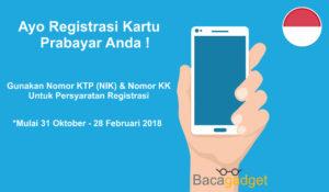 Cara dan Akibat Tidak Registrasi Kartu Prabayar 2017