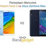 Perbedaan Mencolok Asus Zenfone Max Pro M1 vs Xiaomi Redmi Note 5