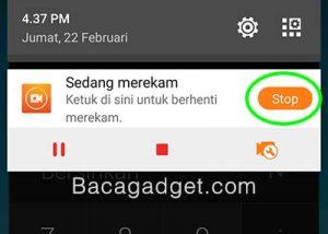 Tutorial Cara Merekam Layar Android - 6