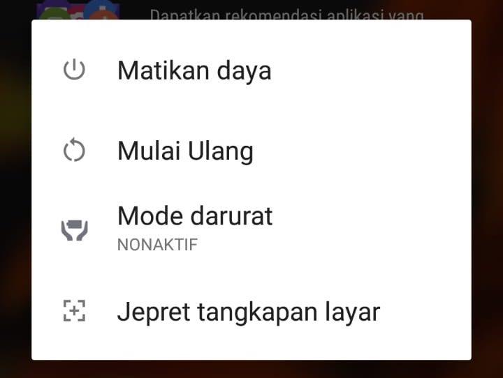 2 Cara Mudah Screenshot Sony Xperia (Semua Tipe) - Power Button